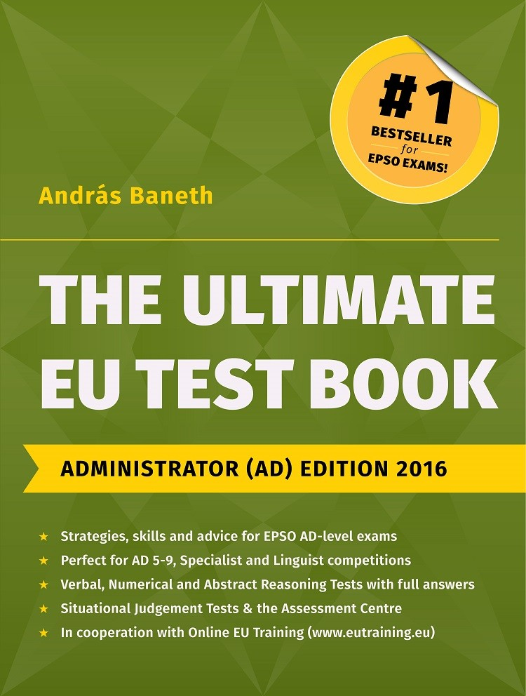 The Ultimate EU Test Book Administrator (AD) Edition 2016