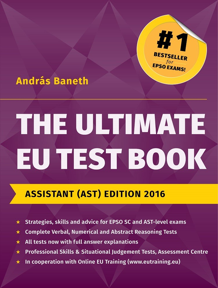 The Ultimate EU Test Book Assistant (AST) Edition 2016