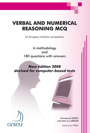 Verbal and numerical reasoning MCQ 180 questions with answers