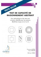 TEST DE CAPACITE DE RAISONNEMENT ABSTRAIT *TESTS SELOR*